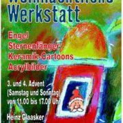 Weihnachtliche Werkstatt 2016 Heinz Glaasker am 3. + 4. Advent 2016