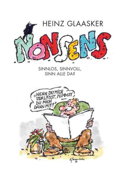 Produktbild Buch »NONSENS« – Gedichte & Karikaturen von Heinz Glaasker